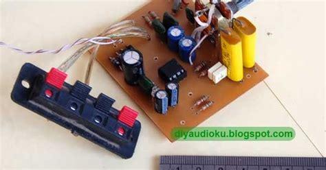 Power Lifier Terbaru merakit integrate power lifier tda2822 sederhana skema rangkaian elektronika