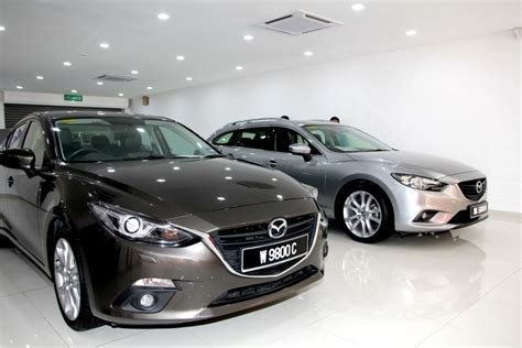 mazda opens   anshin pre owned car centre  glenmarie autobuzzmy