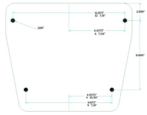 Engine Mounting Bolt Pattern The Hull Truth Boating And Fishing Forum Yamaha Outboard Mounting Template