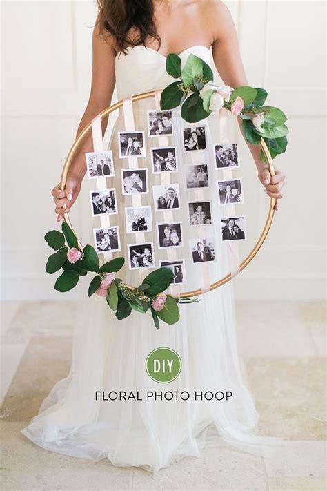 diy wedding photography 26 creative diy photo display wedding decor ideas tulle