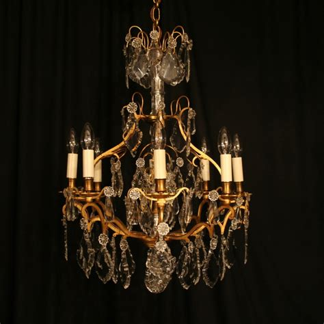 Antique Chandeliers A Gilded Birdcage Antique Chandelier 251079