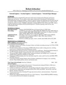 resume templates for security