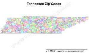 Tn Zip Code Map by Tennessee Zip Code Maps Free Tennessee Zip Code Maps