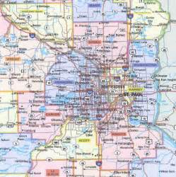 Twin Cities Metro Map by Twin Cities Map Related Keywords Amp Suggestions Twin