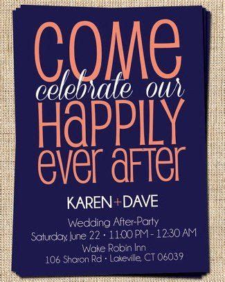 Wedding reception invitations reception only invitations and