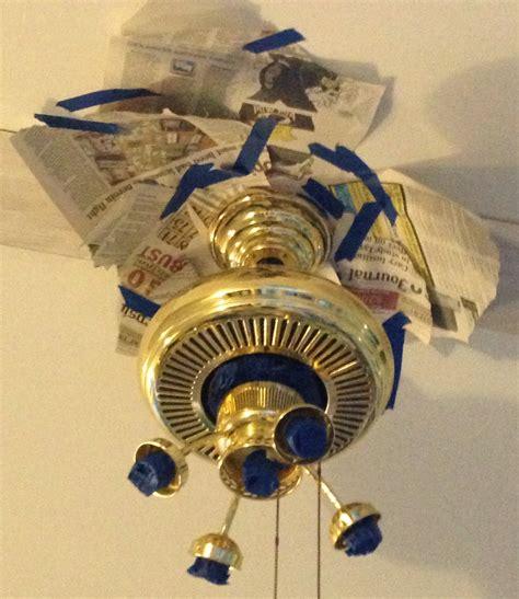 spray paint ceiling fan 6 dollar ceiling fan update just call me homegirl