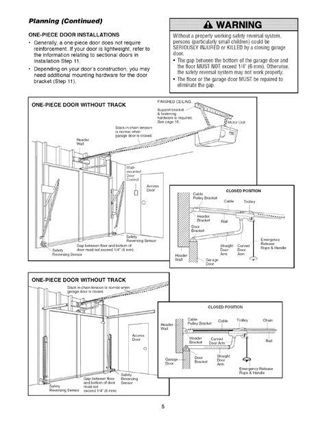 planning continued warning craftsman  hp garage