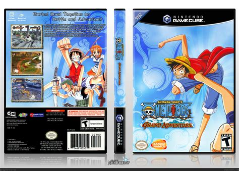 film one piece grand adventure one piece grand adventure gamecube box art cover by