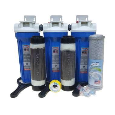 Paket Filter Air Sumur Zat Besi Tinggi 3 Housing Eugen Limited jual eugen zat besi tinggi housing set filter air 3 step harga kualitas terjamin