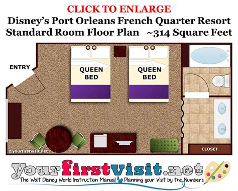 plan out a room accommodations and theming at disney s port orleans french