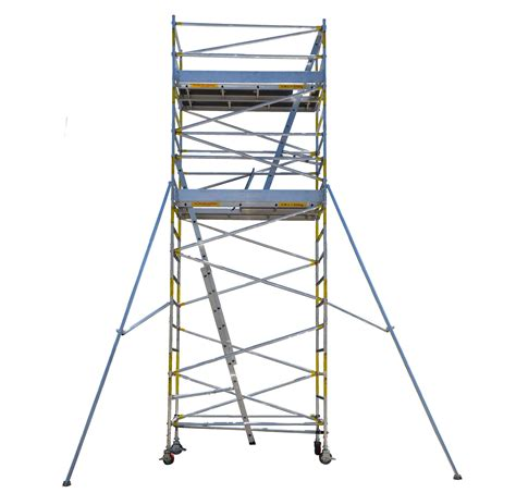 aluminium mobile scaffolding easyscaf 6 0m aluminium mobile scaffold width 2