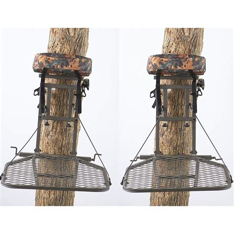 classic tree stands photos xop classic leveler stand 221710 hang on tree stands at sportsman s guide