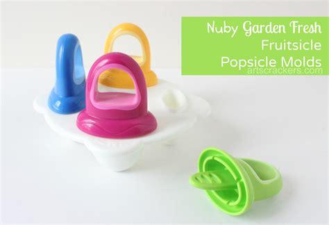 Nuby Garden Fresh Freezer Post 5439 nuby garden fresh fruitsicle freezer pop mold review arts crackers