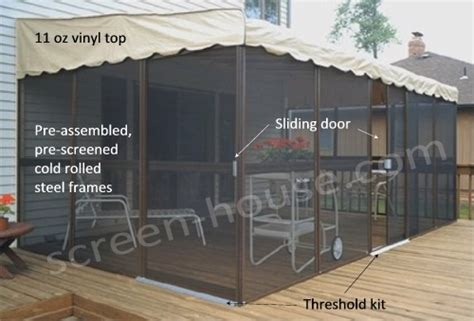 screen rooms canada patiomate in canada wall attached screened enclosures kayhome