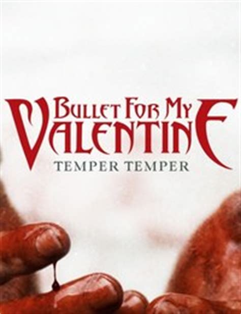 bullet for my temper temper cd reviews credo webzine