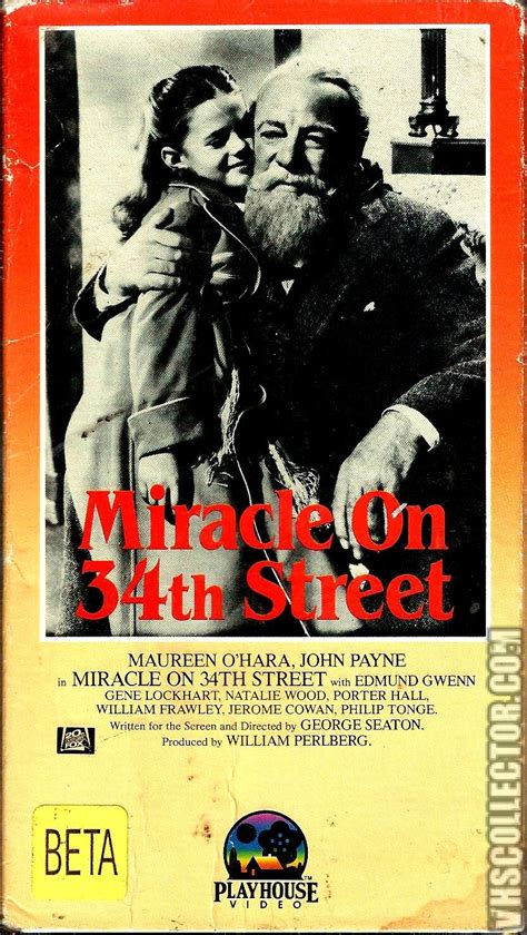 The Miracle Season Distributor Miracle On 34th Vhscollector Your Analog Videotape Archive