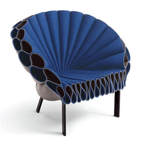 Peacock Armchair by Dror Benshetrit Peacock Armchair