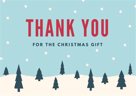 Thank You Cards Christmas Gifts - christmas thank you card wording exles for holiday gifts