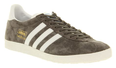 adidas vintage shoes adidas gazelle vintage sharp grey white trainers shoes ebay