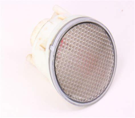 lh rear bumper reverse   light   vw beetle genuine