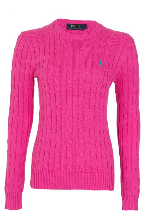 ralph womens cable knit jumper ralph ralph polo julianna womens cable knit