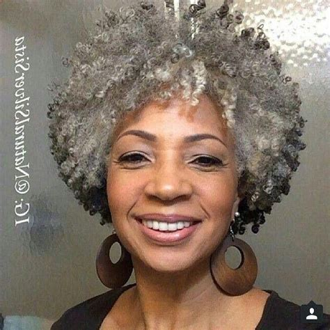 african american aging hair 20 best of short hairstyles for black women with gray hair