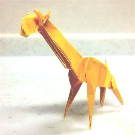 Giraffe Origami - origami giraffe origami crafts