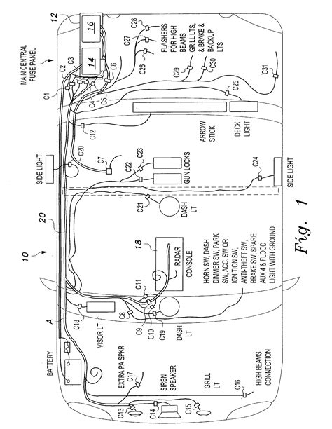 federal signal legend lightbar wiring diagram federal