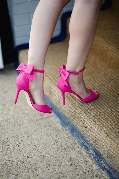 high heels with a bow pink high heels with bow