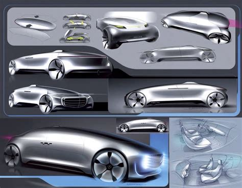Auto By Design by Autonomous Concpet Layout Sketches Car