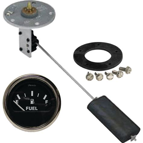boat gas tank gauge fuel sending unit info level marine boat tank gauge kit