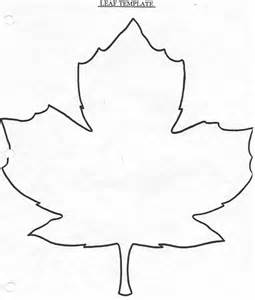 Leaf Template by Large Leaf Template Coloring Home