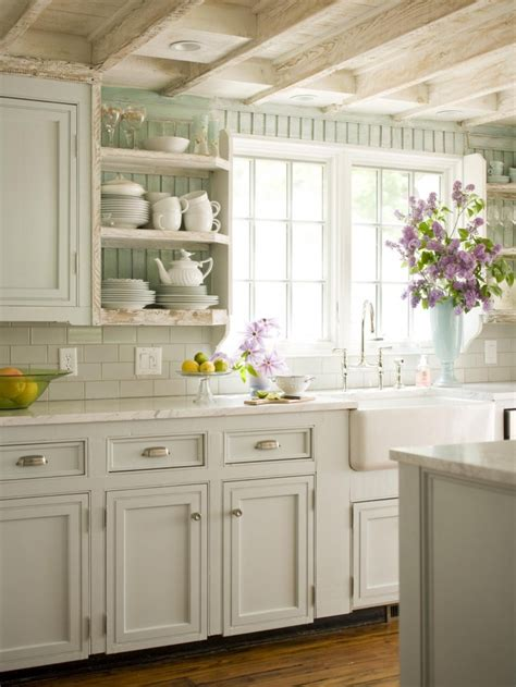 Country Cottage Kitchen Designs Cottage Vintage Shabby Country Cottage