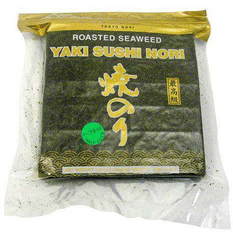Manjun Yaki Sushi Nori 50 Sheet roasted seaweed nori tokyo nori importer supplier in usa