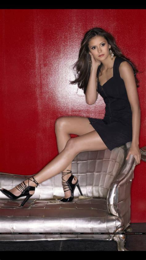 dress nina dobrev black  black dress lbd tube