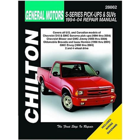 chilton car manuals free download 1996 oldsmobile 98 interior lighting 1994 2004 s series pick ups suvs chilton manual northern auto parts
