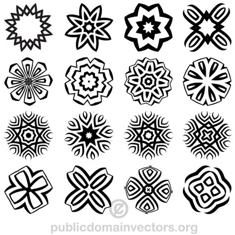 decorative geometric design decorative geometric shapes illustrator download free