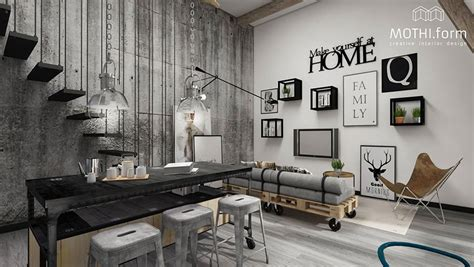 Pareti Stile Industriale by 23 Idee Per Arredare Il Soggiorno In Stile Industriale