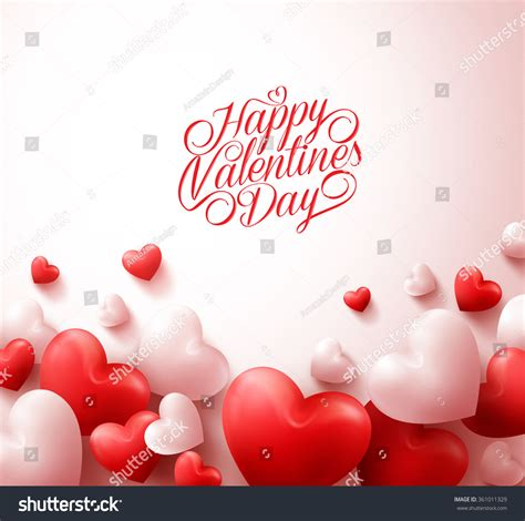 happy valentines day images 3d happy valentines day background with 3d realistic