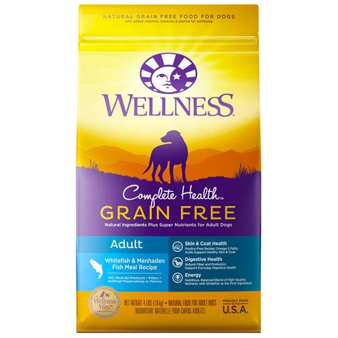 wellness grain free food wellness complete health grain free fish food petco