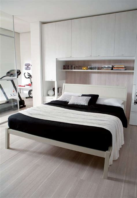 comodino letto camere da letto matrimoniali a ponte comodini nell