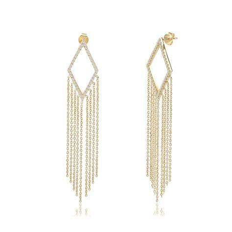 Silver Chandelier Earrings Uk Ingenious Gold Chandelier Earrings With Hanging Chains Ingenious From Ingenious Jewellery Uk