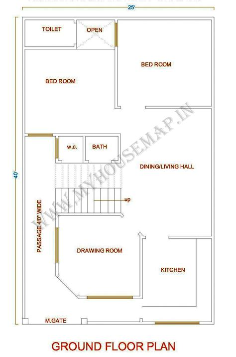 house map design 20 x 40 tags home map house map elevation exterior house