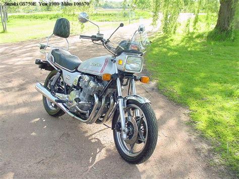 1980 Suzuki Gs750 1980 Suzuki Gs750e Classic Motorcycle Pictures