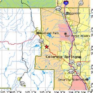 cascade colorado map cascade chipita park colorado co population data