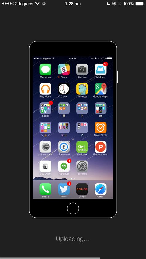 show your icons with homescreen for ios