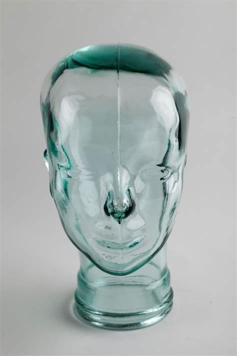 glass mannequin home buy clear glass display heads for your accessories fast