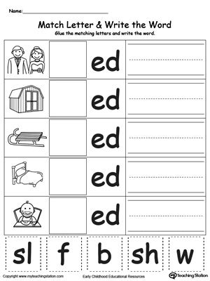 3 sounds of ed worksheet ed worksheets worksheets releaseboard free printable worksheets and activities