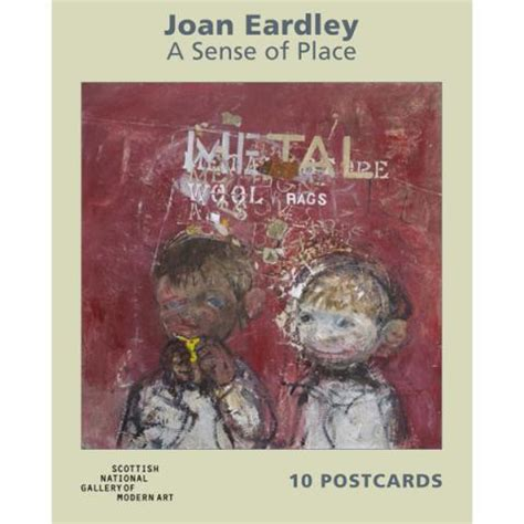 libro joan eardley a sense past exhibition merchandise national galleries of scotland