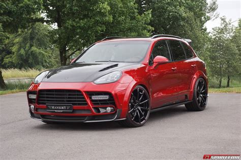cayenne porsche official mansory porsche cayenne turbo and turbo s gtspirit